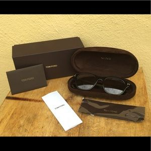 NIB Tom Ford - 51mm Retro Sunglasses